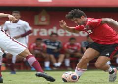 São Paulo perde para o Juventus em jogo-treino; veja escalação e testes feitos por Fernando Diniz