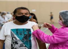 Ceará aplica 4,8 milhões de doses de vacinas contra a Covid desde o início da campanha
