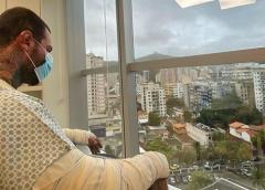 Léo Stronda posta reflexão após ter queimaduras em 30% do corpo