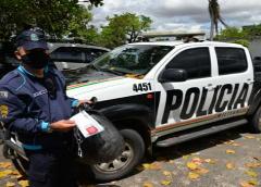 Polícia Militar recupera veículo com restrição de roubo ou furto, em Jardim