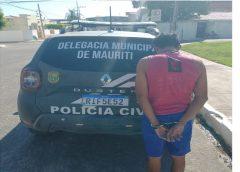 Policia Civil de Mauriti, prende foragido da justiça do Estado de Tocantins