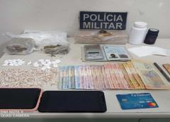 Drogas e objetos roubados são apreendidos durante ação da Polícia Militar em Juazeiro do Norte