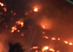 Incêndio na serra de Itapipoca é totalmente controlado pelos bombeiros na manhã deste sábado, 26