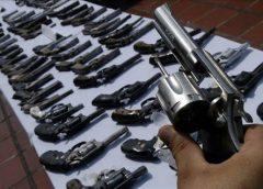 Apreensões de armas de fogo crescem 12,8 por cento no primeiro semestre no Ceará