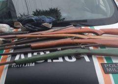 Fábrica clandestina de armas é desativada e suspeitos são presos em Croatá