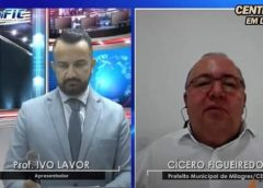 Prefeito Figueredo diz que cerca de 15% da população está vacinada contra a Covid-19