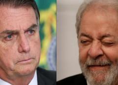 Pesquisa Instituto Paraná mostra Bolsonaro em vantagem na frente de Lula