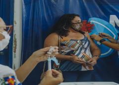 Mutirão vacina mais de 1.300 pessoas contra a covid-19 em Milagres