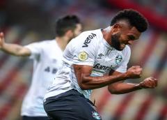 Borja assume artilharia do Grêmio no Brasileirão e garante metade dos pontos na briga contra o Z-4