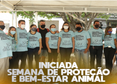 INICIADA I SEMANA DE PROTEÇÃO E BEM-ESTAR ANIMAL